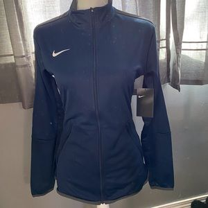 Blue Nike full zip track jacket